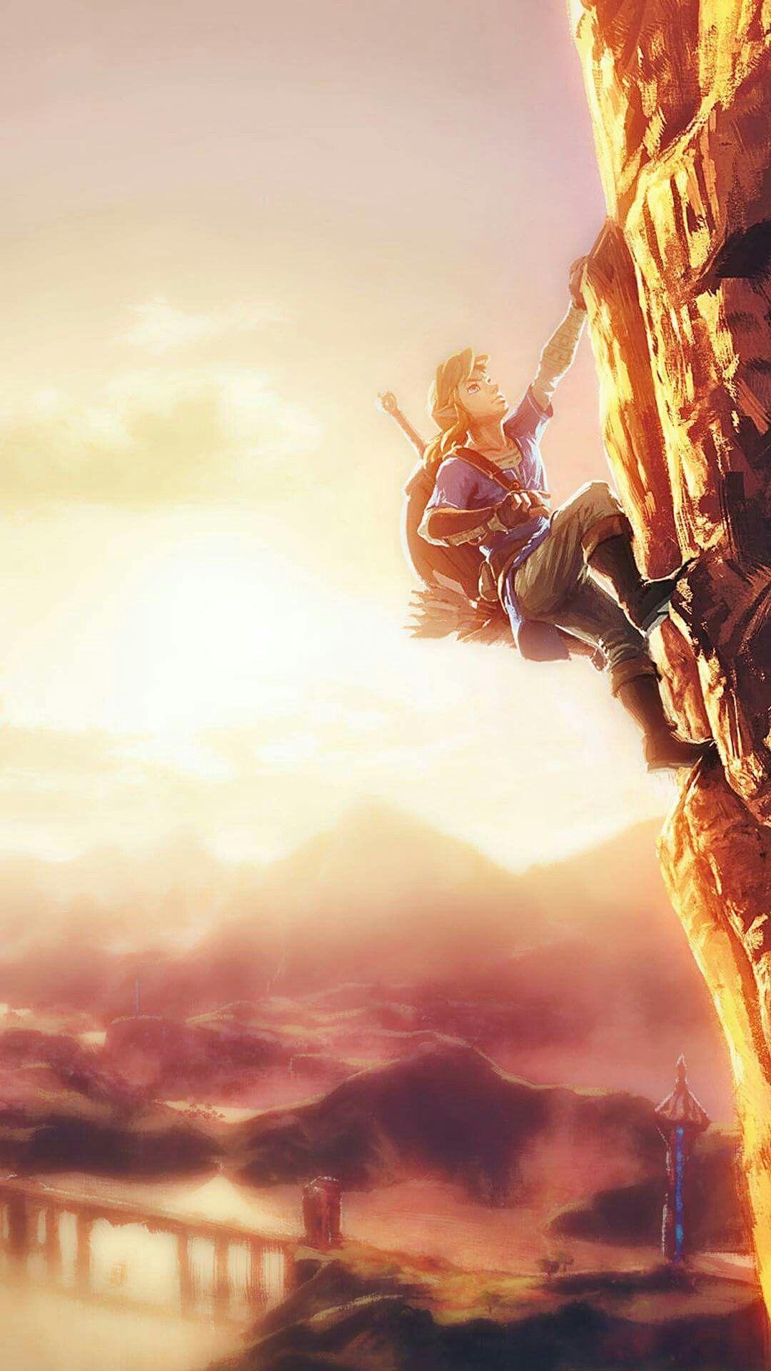 Zelda Breath of the Wild Cest tellement beau mais je peux