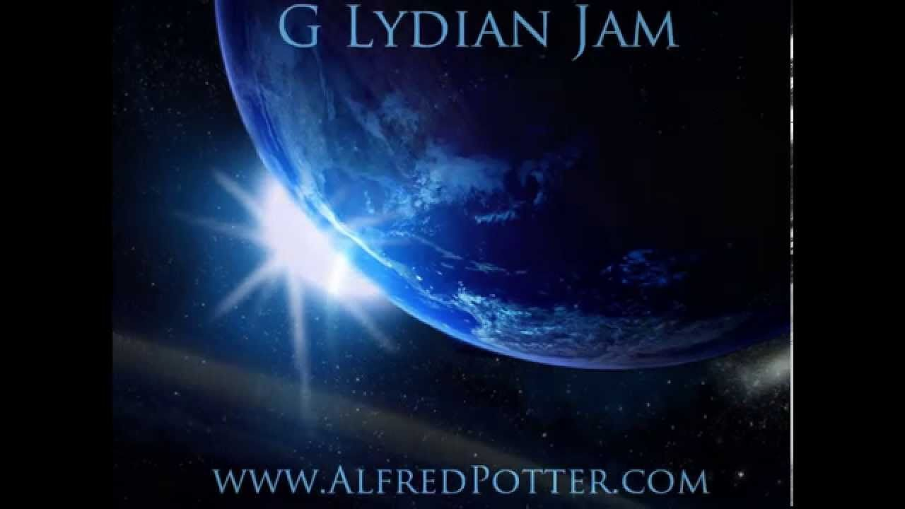 Spacey G Lydian Jam Backing Track