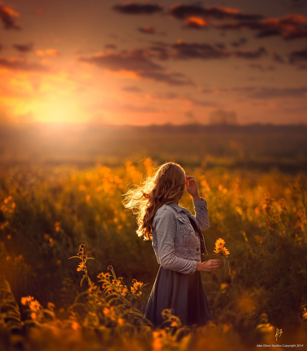 Photograph Harvest At Dusk by Jake Olson Studios on 500px