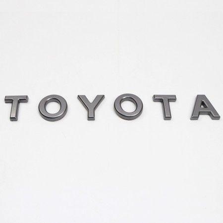 Front Bumper Grille TOYOTA Emblem Logo Nameplate For