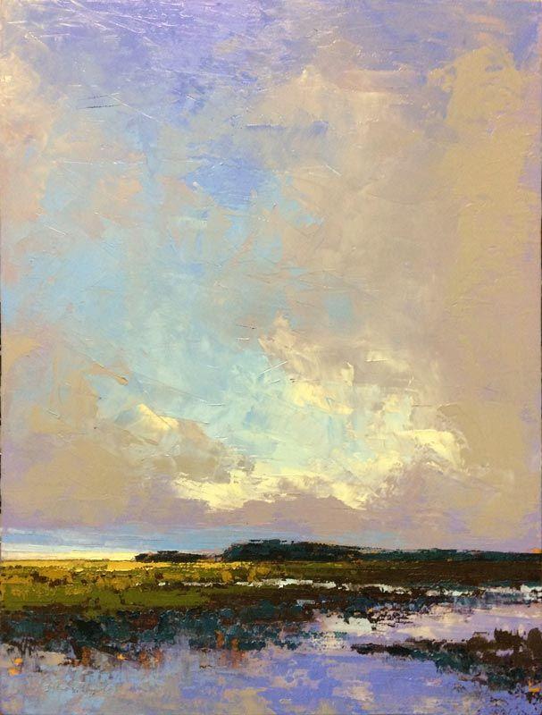 Edisto Island Morning Landscape Art Landscape Paintings Landscape Artwork