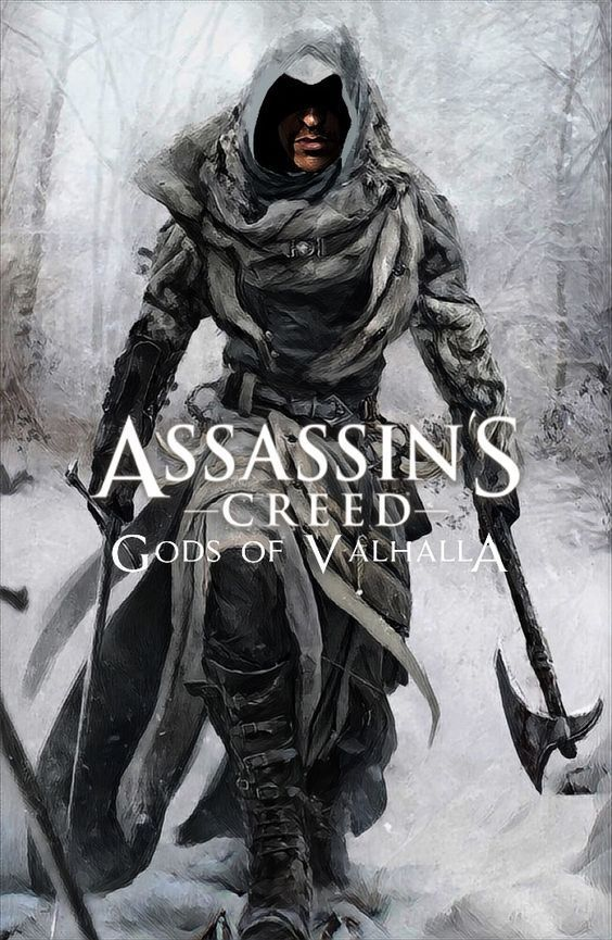 Assassin S Creed Gods Of Valhalla Assassins Creed Gods Valhalla Wallpapers 4k Free Iphone Mo Assassin S Creed Assassins Creed Art Assassins Creed
