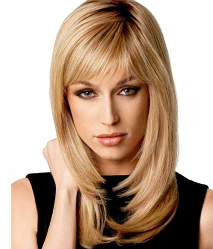 BG Charming Women Blonde Long Straight Heat Resistant Natural Wigs As Real Hair  A Free Wig Cap WIG132 ** You can get more details by clicking on the image.(This is an Amazon affiliate link and I receive a commission for the sales)