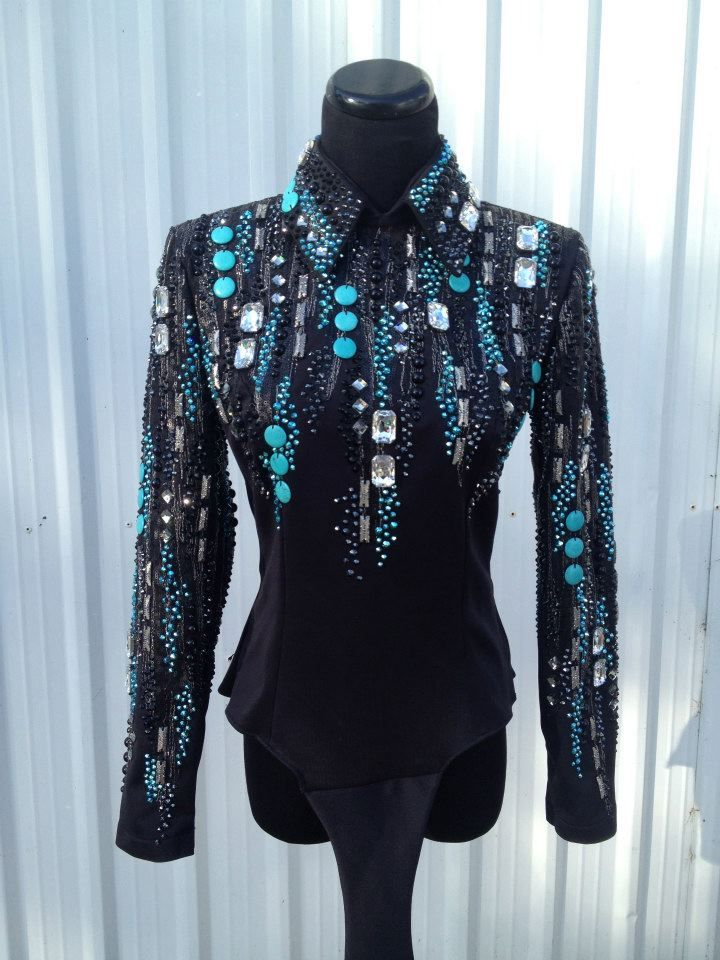 Lindsey James Showmanship outfit, Western show clothes