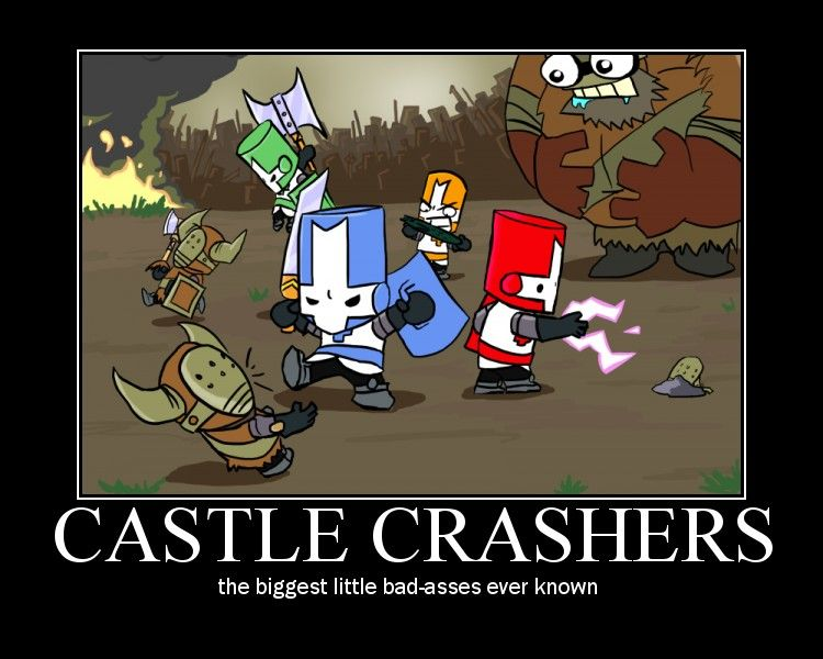 Castle Crashers By Happymanofdoom93 On Deviantart Castle Crashers Comic Book Tattoo Knight Drawing