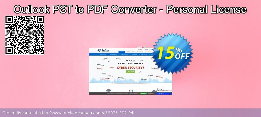 20 Off Systools Outlook Pst To Pdf Converter Coupon On