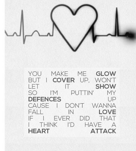 Demi Lovato Heart Attack Demi Lovato Lyrics Demi Lovato Demi Lovato Heart Attack