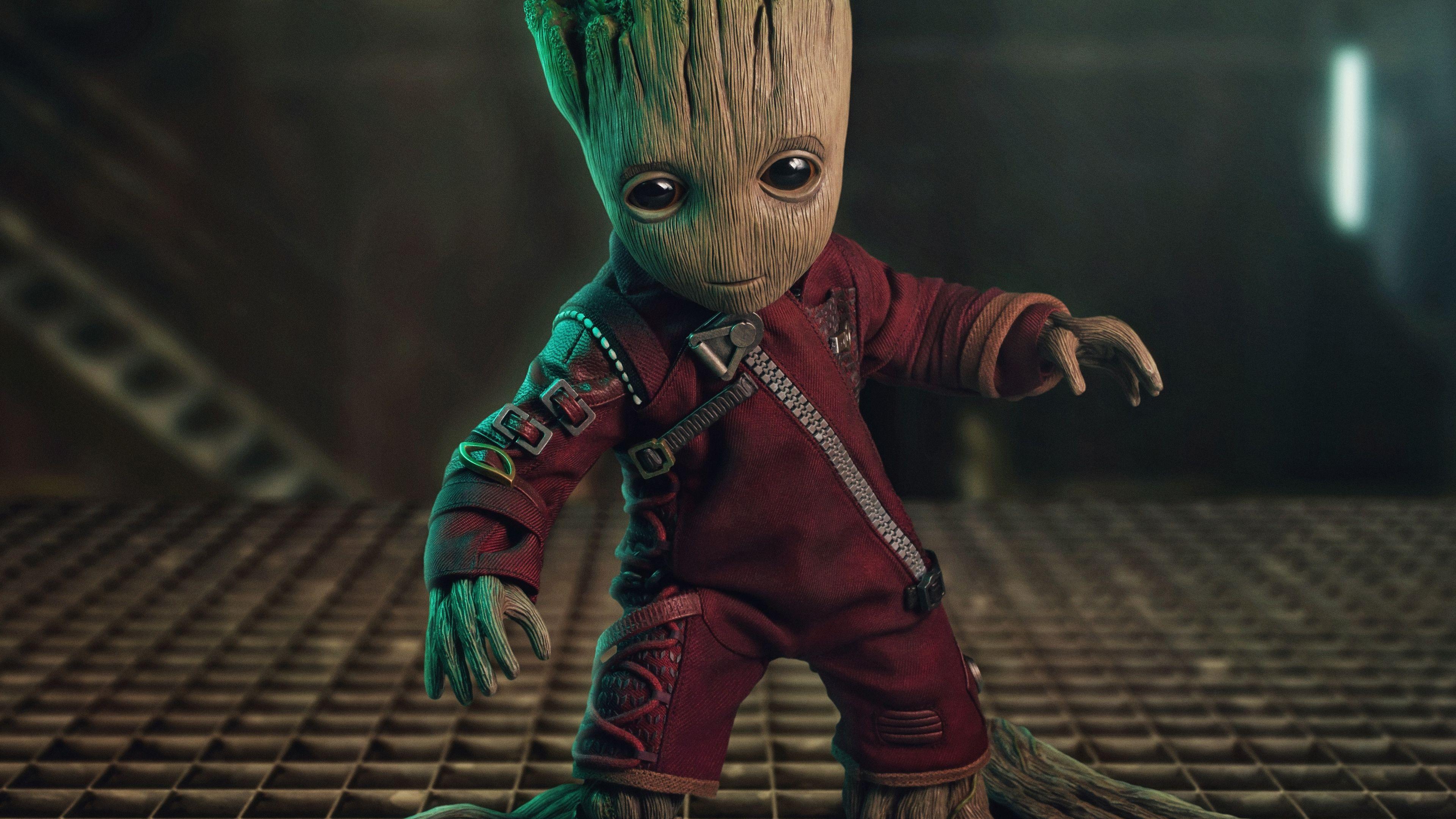 Baby Groot 5k Superheroes Wallpapers Hd Wallpapers Groot