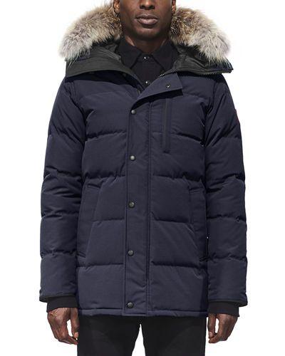 carson down parka with fur trim hood fur trim and fashion rh pinterest com