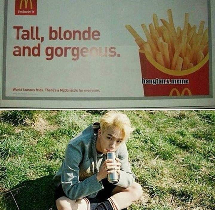 Blonde Jin is on fiiiiiiiiiire