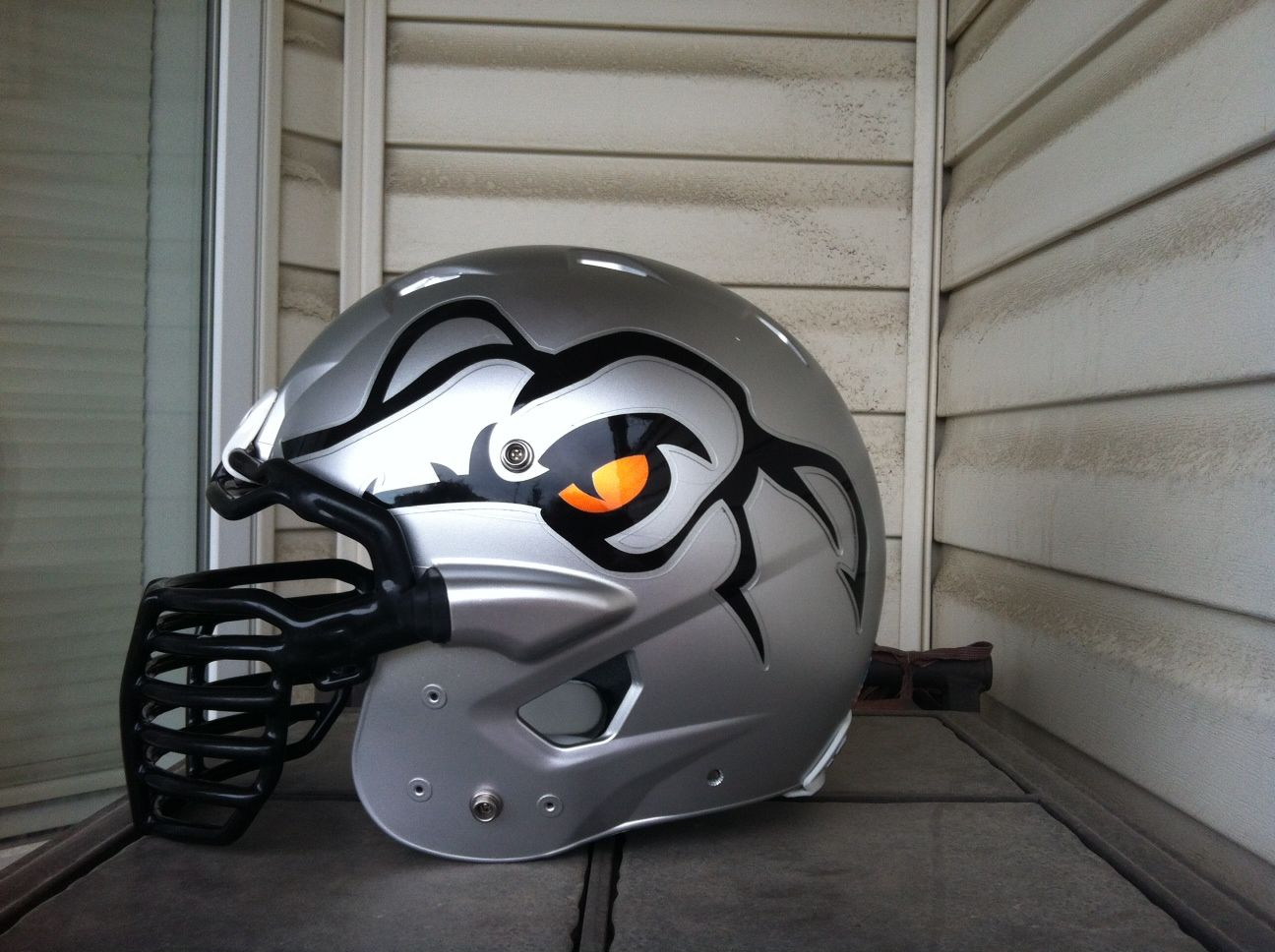 Check out the new football helmet decals for the calgary