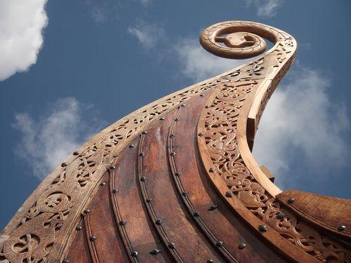 north, vikings, drakkar, viking ship