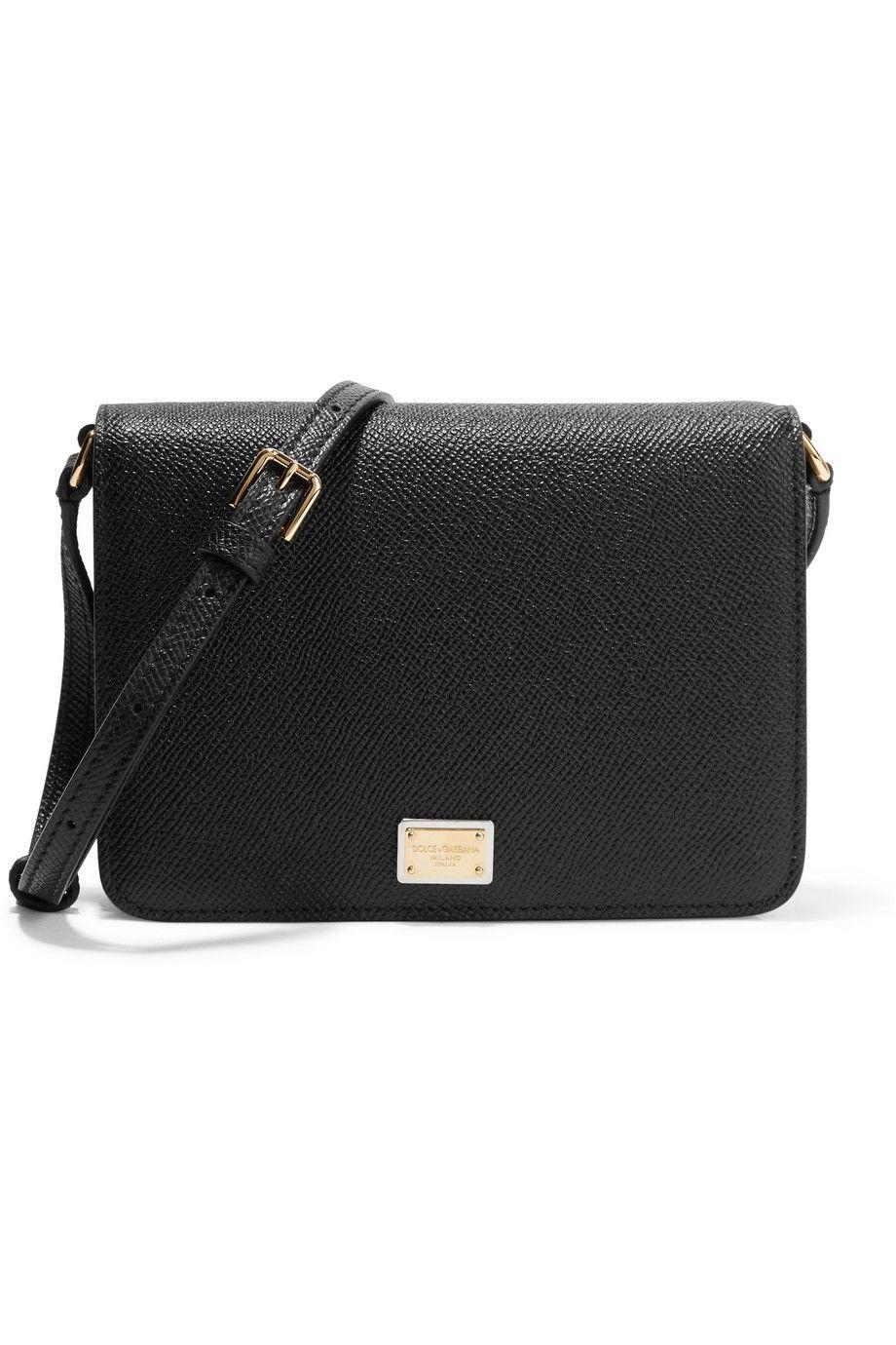 DOLCE   GABBANA Textured-Leather Shoulder Bag.  dolcegabbana  bags  shoulder  bags  leather a7093532912bb