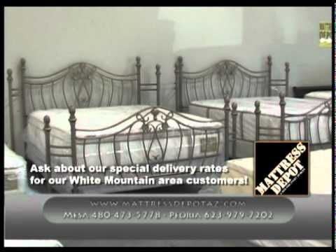 Mattress Depot Az Has Two Store Locations We Have 500 Beds In Stock Selling At 60 80 Off Retail Prices Home Of Discount Mattresses Mattress Outlet Mattress