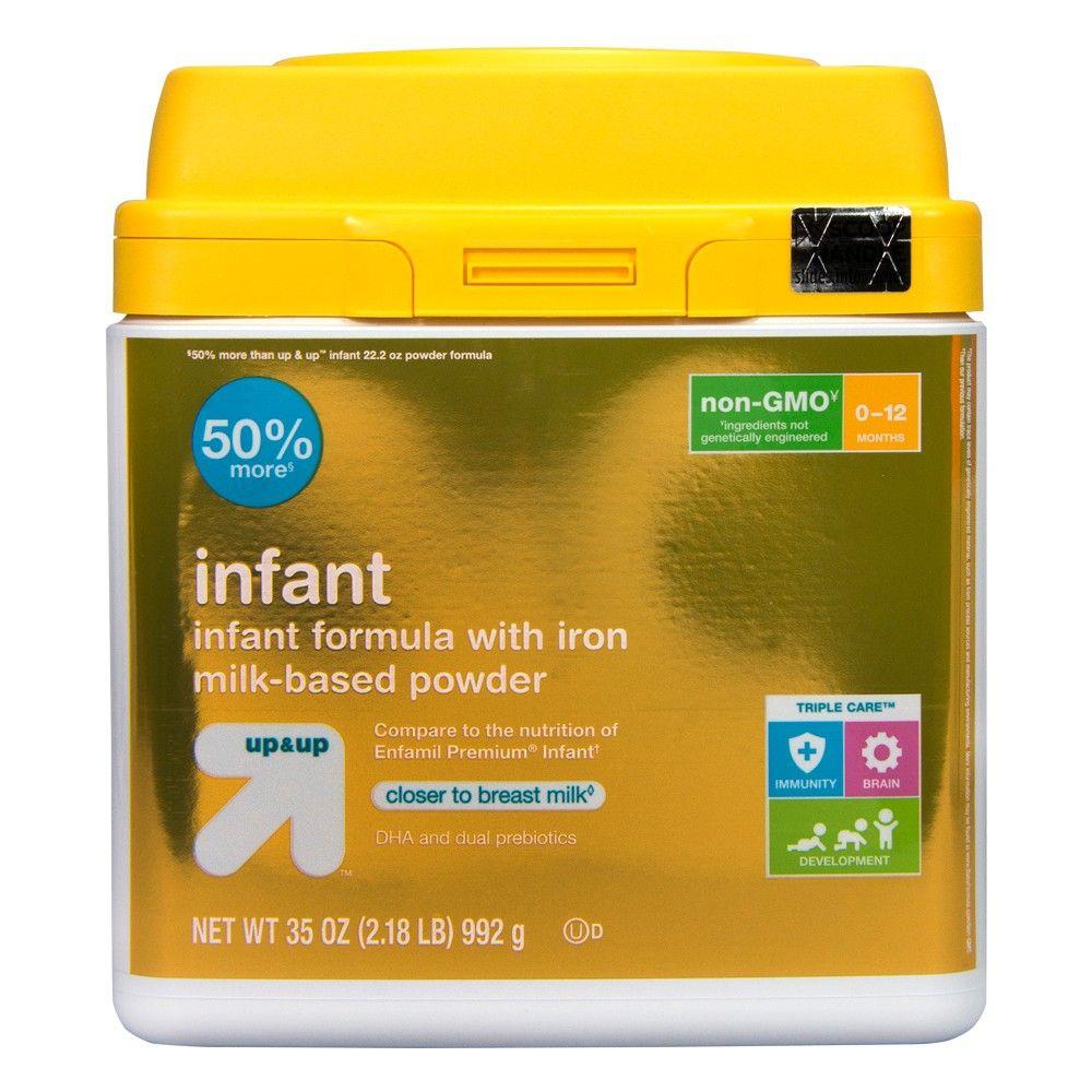 Infant nongmo formula with iron 35oz to