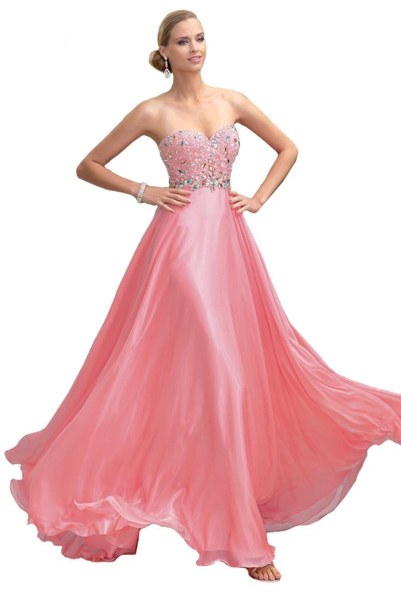Alyce Paris Pink Prom Dress 6046 (12, Morganite Pink) | Fav Dresses ...