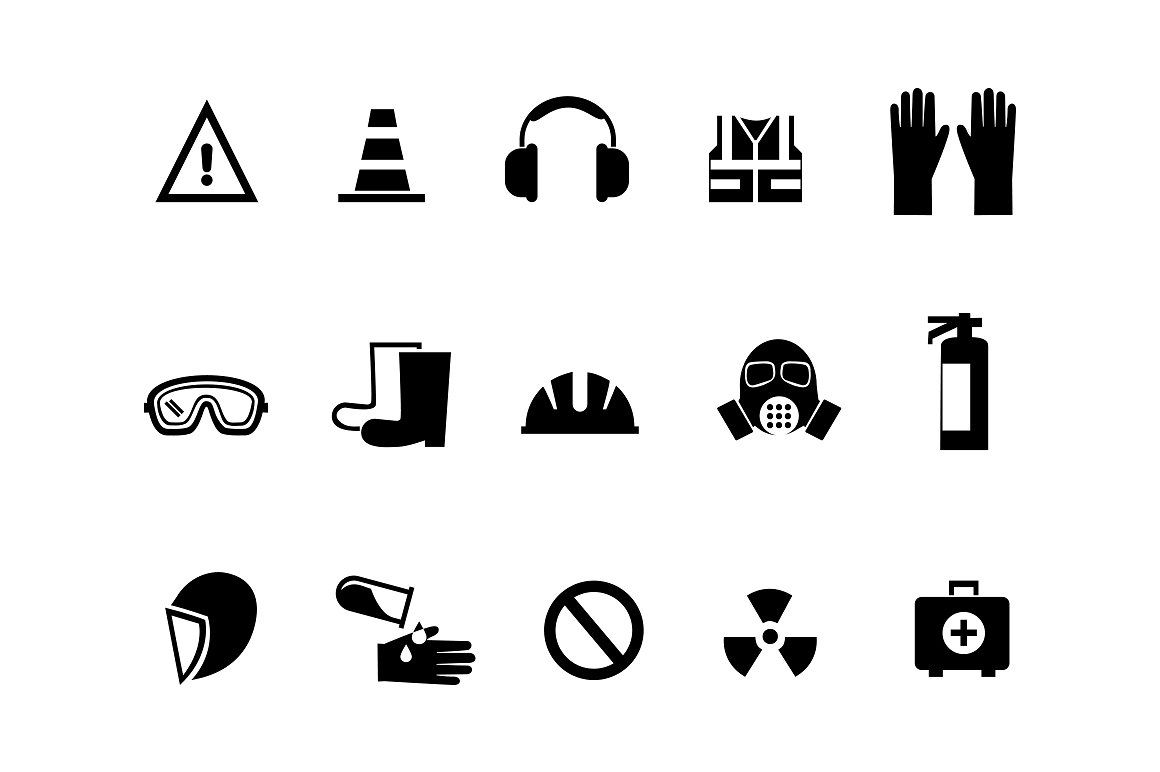 Financial Activity And Business Staff Icons With Images