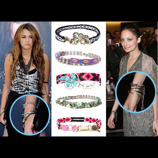 bracelets celebridades