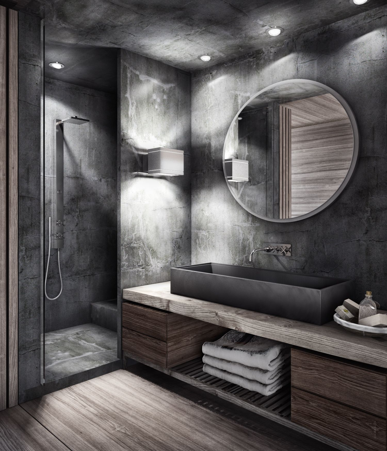 Bathroom 3dmax And Vray Modern Bathroom Design Bathroom Designs India Latest Bathroom Tiles Design