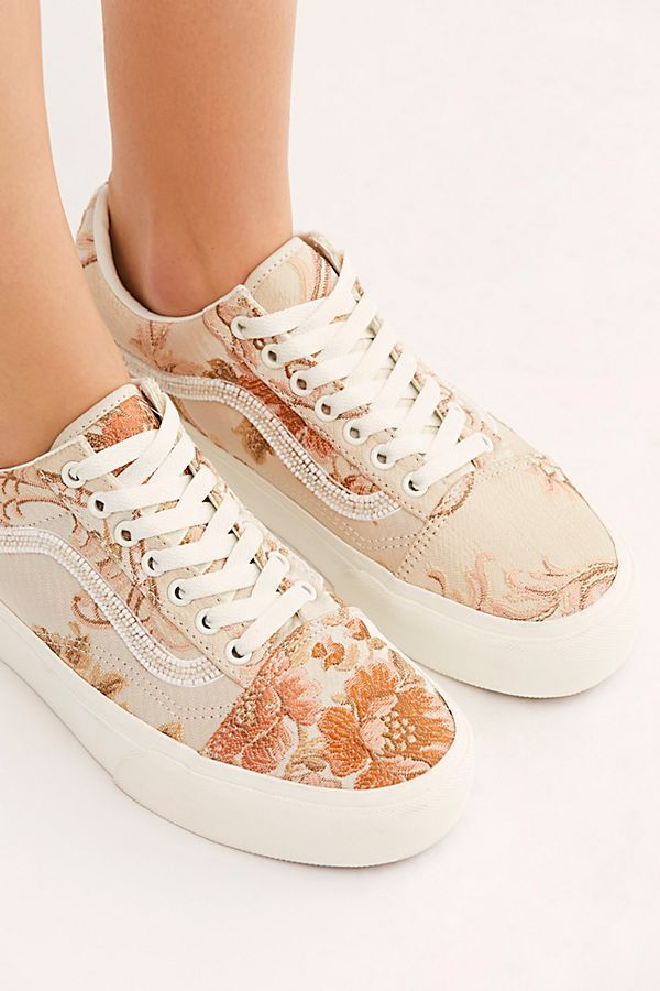 Old Skool Floral Platform Sneaker is part of Sneakers - Shop our Old Skool Floral Platform Sneaker at FreePeople com  Share style pics with FP Me, and read & post reviews  Free shipping worldwide  see site for details