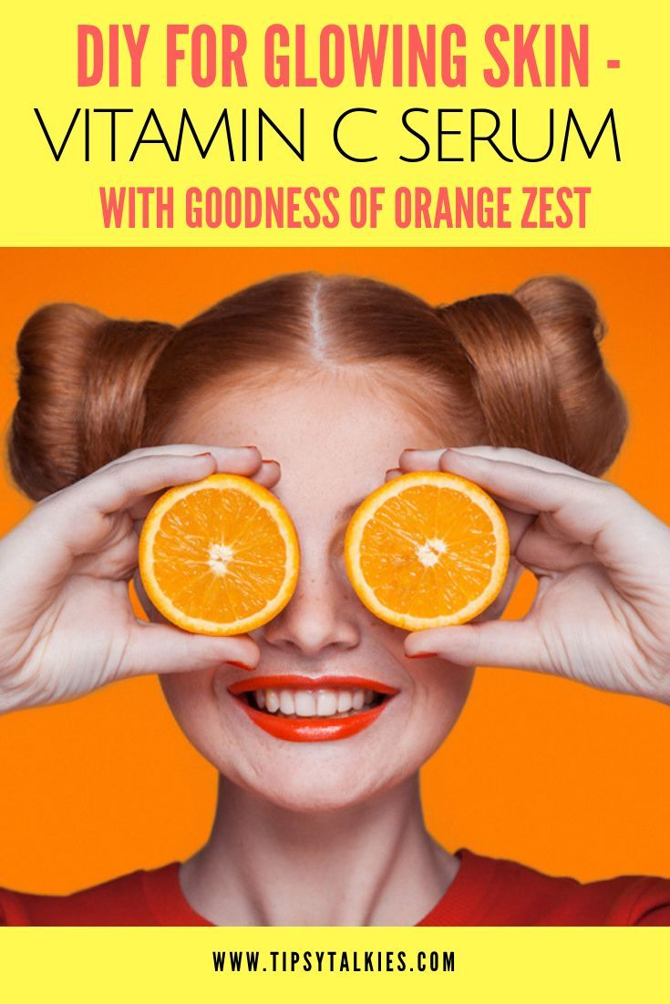 Diy vitamin c serum with orange zest vitamin c serum