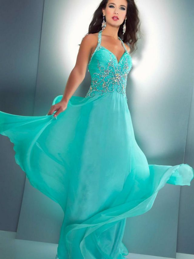 Aqua Wedding Dresses