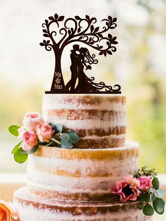 31+ Fall themed wedding cake toppers inspirations