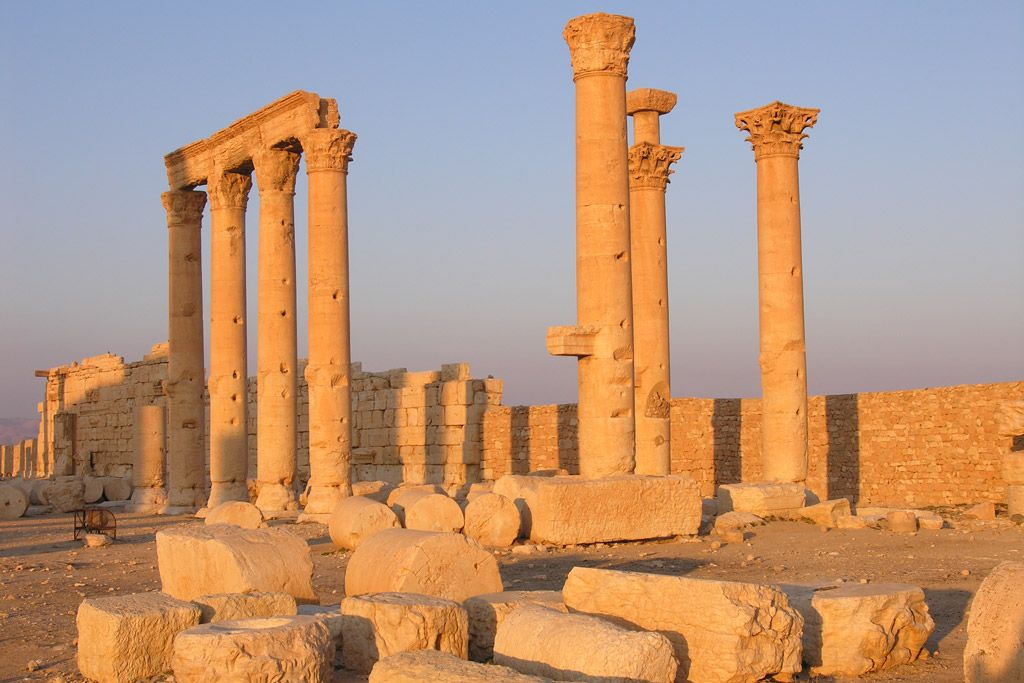 Archaeological site of Palmyra in Syria. Photo: ©UNESCO/F. Bandarin
