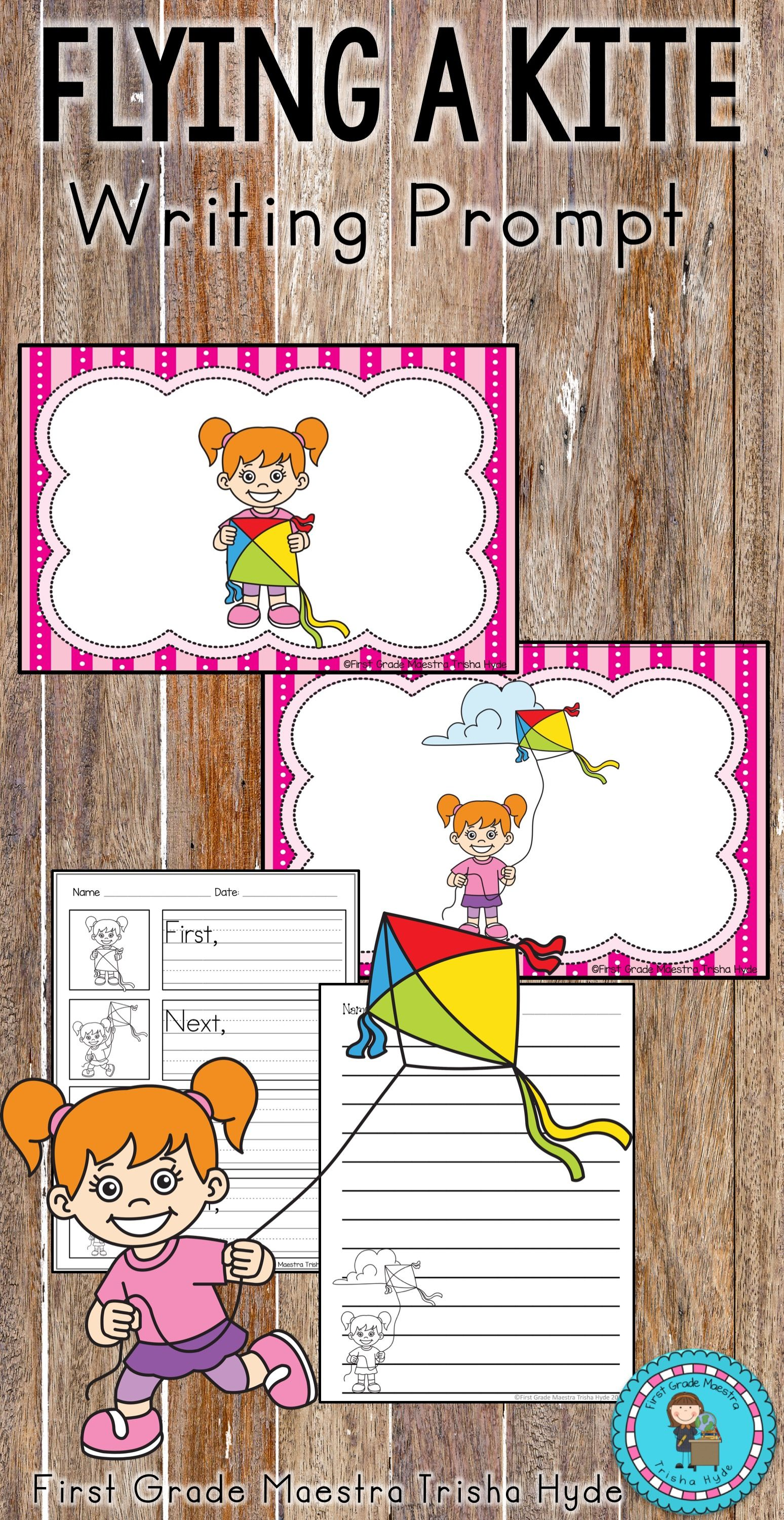 This Flying A Kite Writing Prompt Is An Excellent Way To