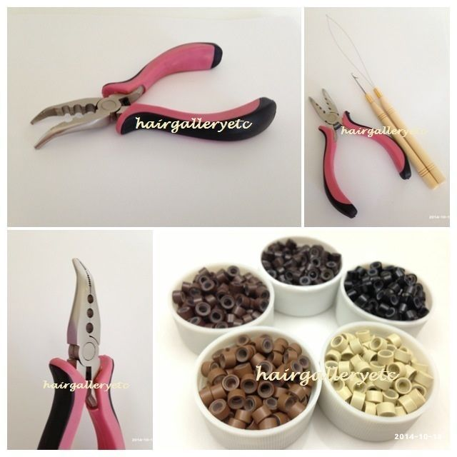 250 silicone micro beads feather hair extension i tip tool kit 250 silicone micro beads feather hair extension i tip tool kit pliers hook loop pmusecretfo Image collections