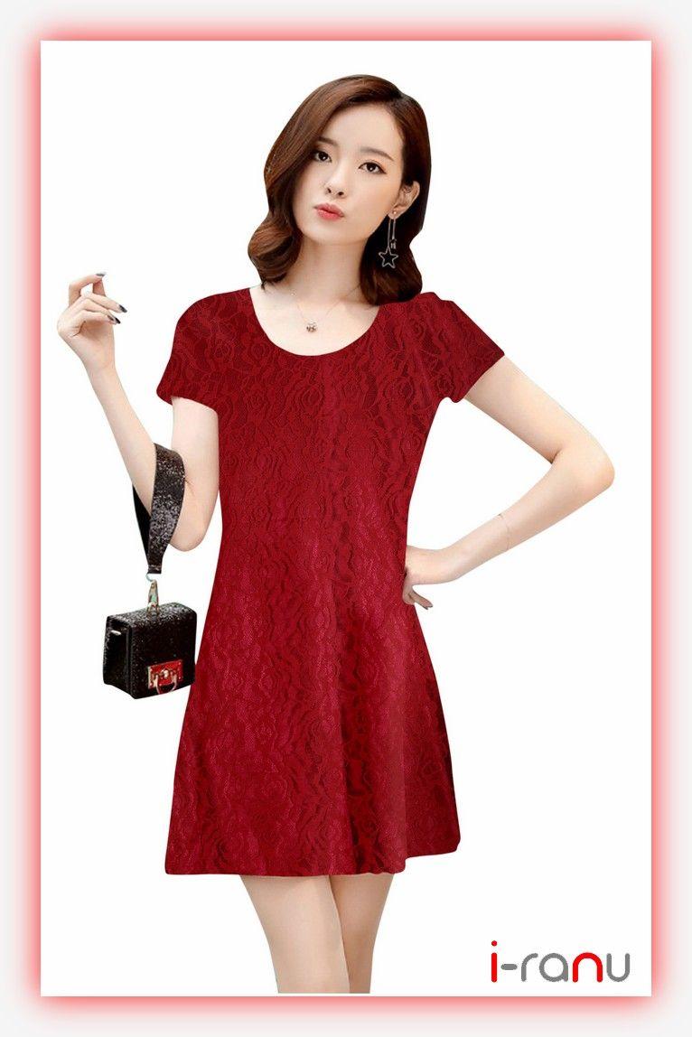 170be7935c6 Isha short western maroon rasal dress