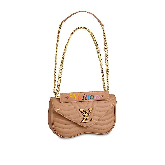 Louis Vuitton New Wave Chain Bag MM #chainbags