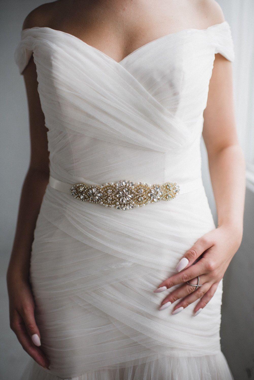 Handmade crystal bridal belt rhinestone pearl luxury wedding dress - Pearl Wedding Belt Crystal And Pearl Bridal Sash Belt Rhinestone Wedding Dress Belt