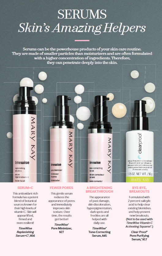 Boost Your Skin Care With Amazing Serums Mary Kay Cosmetics Mary Kay Marketing Mary Kay