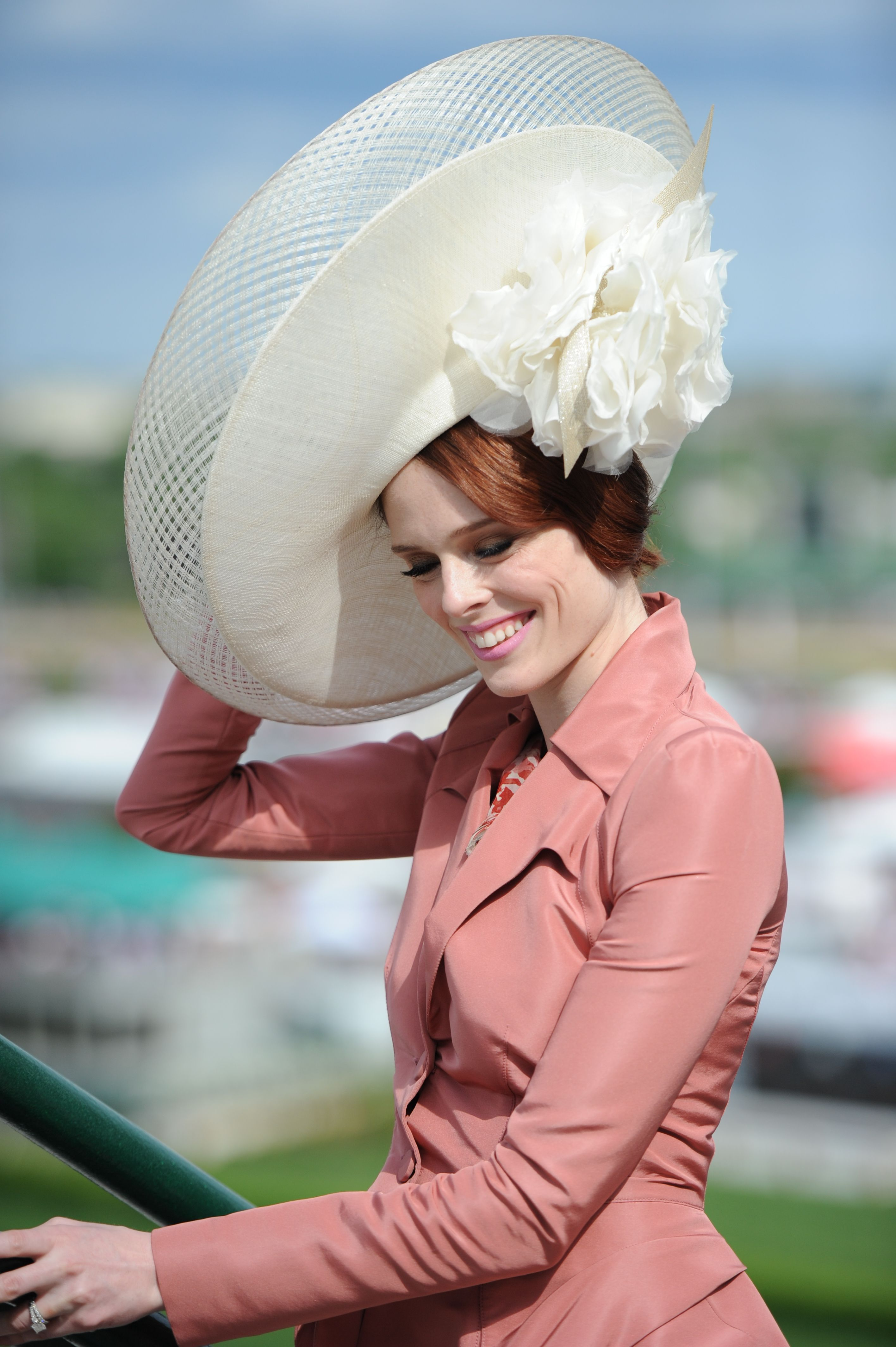 af0da9edccdab Kentucky Derby fashion is FABULOUS! Contemporary In a Choosing One of the  Proper Ladies Kentucky Derby Hats ...