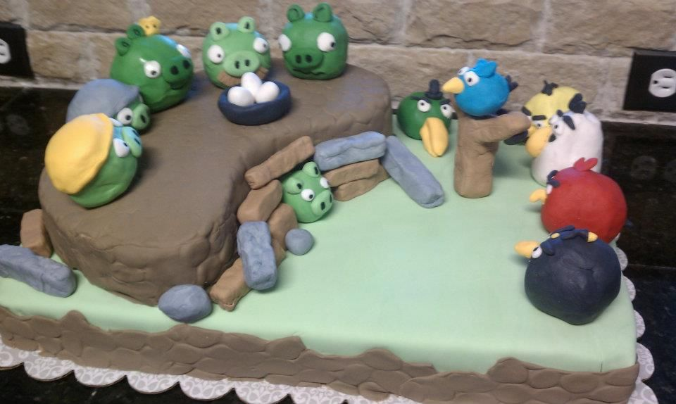Angry Birds cake (2 of 4)