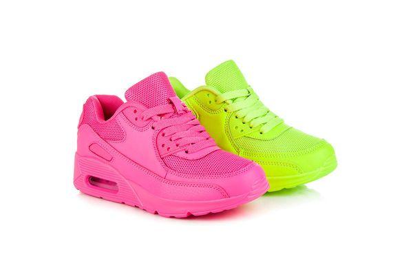 Neonowe Buty Sportowe Rozowe Air Max Sneakers Sneakers Nike Sneakers
