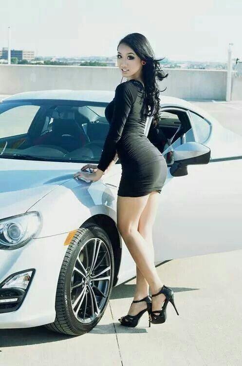 Asian car hot model