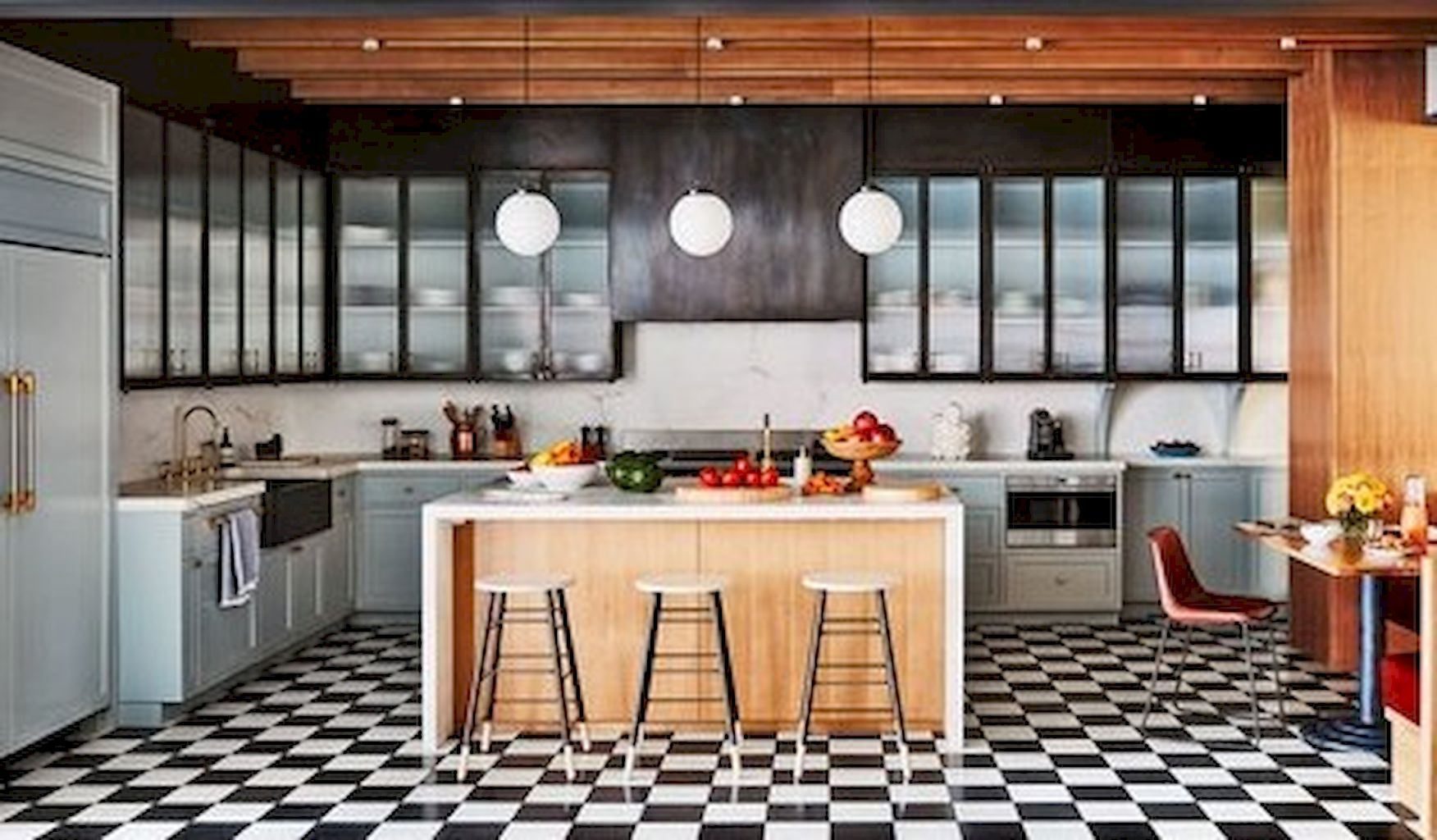 50 small kitchen islands with maximum functions and