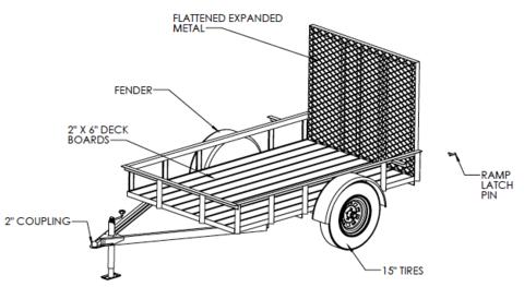 5\u0027x8\u2032 utility trailer welding plans garage workshop welding5\u0027x8\u2032 utility trailer welding plans