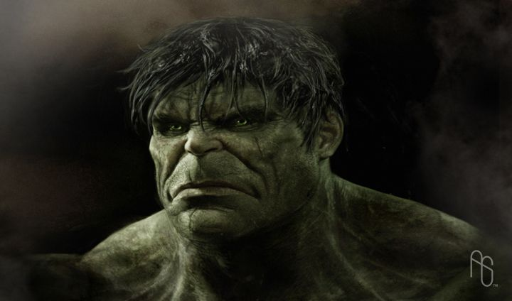 #Hulk #Fan #Art. (Early Hulk 2) By: Aaronsimscompany. (THE * 5 * STÅR * ÅWARD * OF: * AW YEAH, IT'S MAJOR ÅWESOMENESS!!!™) ÅÅÅ+