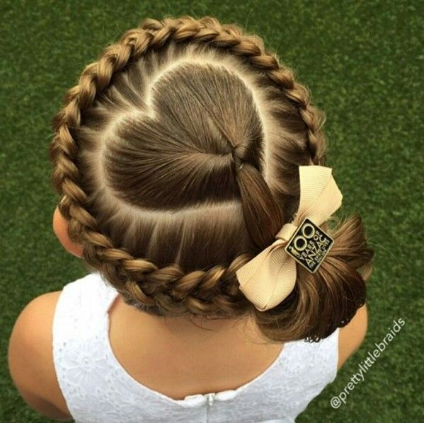 Ok Probably The Cutest Hardest Hairstyle To Do Hair Styles Hairstyle Valentine S Day Hairstyles