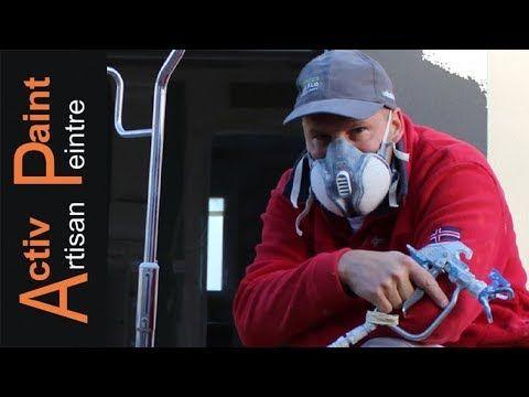 N°20 TUTO COMMENT PEINDRE UN PLAFOND EN AIRLESS apprendre a peindre - comment peindre le plafond