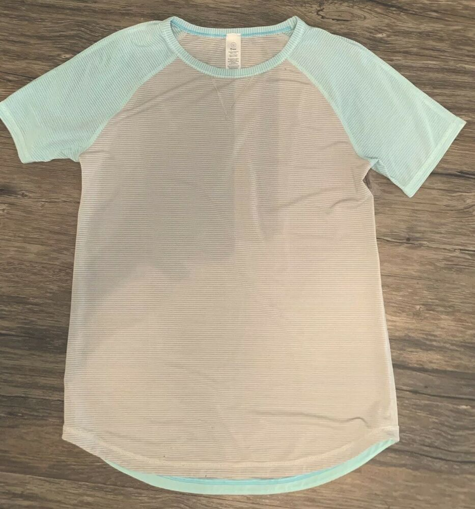 7 or  12  Short Sleeve Ivivva  Rise Shine Repeat  Size