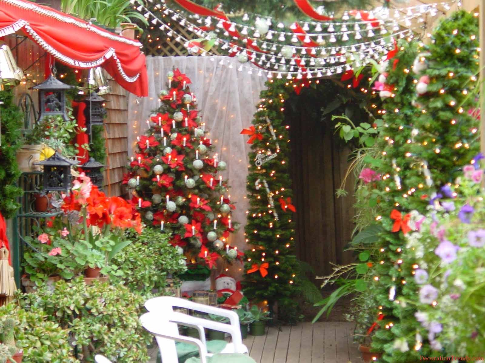 Garden Party Decoration For Christmas 10  Decoration TRENDY
