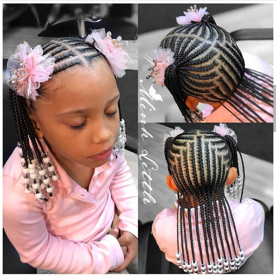 Braids for kids is one of the most simple yet effective hairstyles