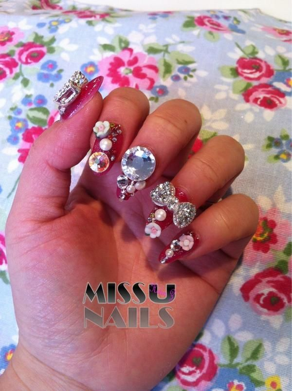 Missu® UK Official on | Bling nails, Nails magazine and Bling