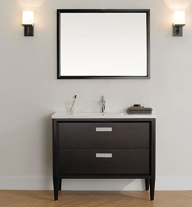 Bathroom Vanity Choice Of Finish Bathroom Vanities Vanities - Modern free standing bathroom vanities