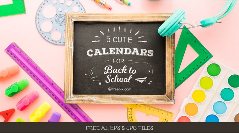 Download Free School Calendar Templates To Start The