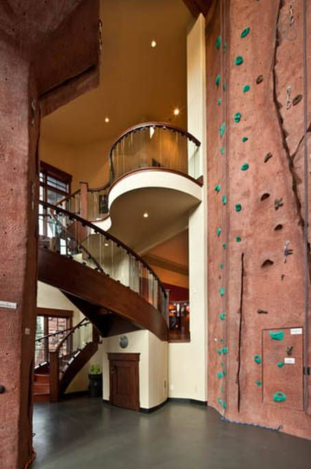 What A 35 Indoor Rock Climbing Wall Inside This